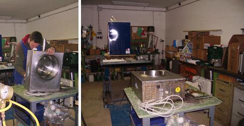servicio técnico maquinaria heladería, maquinaria pastelería