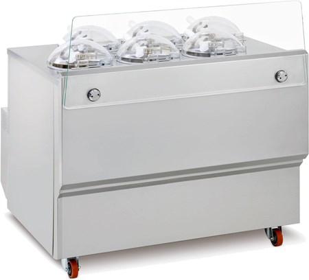 Mantecadora mostrador GX. 40% de descuento en equipos Frigomat.