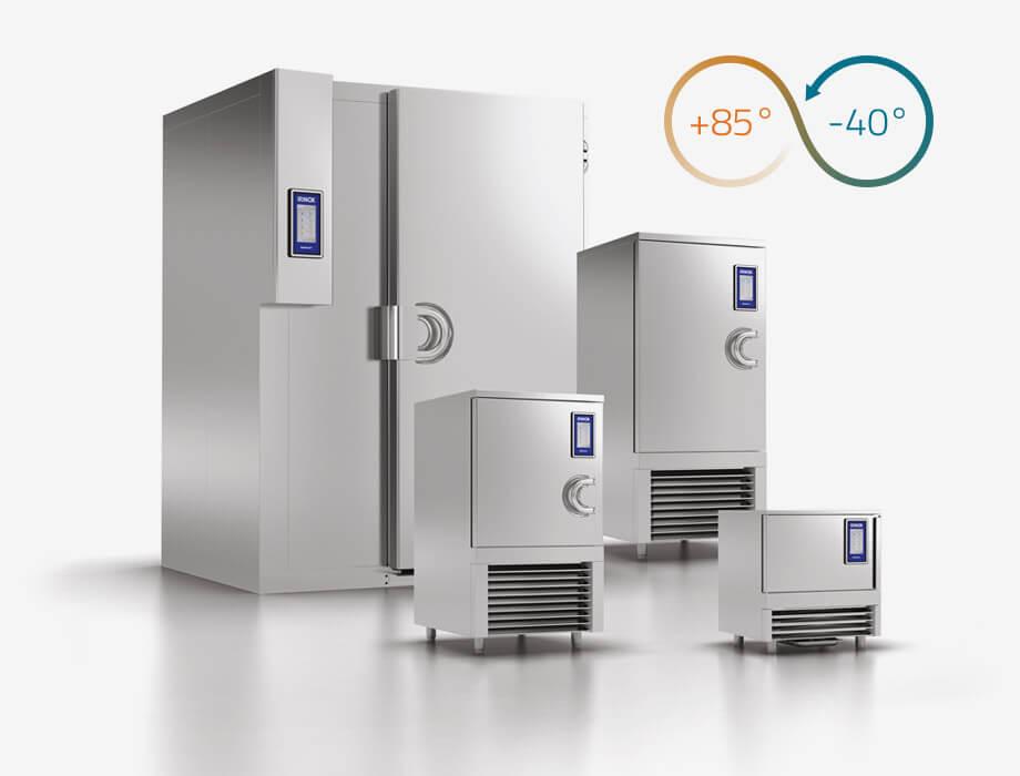 En Gastromat somos distribuidores autorizados de Irinox, la empresa italiana especialista en abatidores y congeladores rápidos.